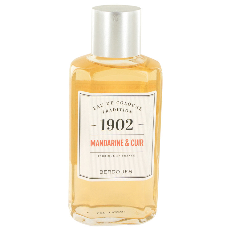 1902 Mandarine Leather by Berdoues Eau De Cologne (Unisex) 8.3 oz