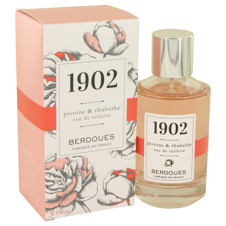 1902 Pivoine & Rhubarbe by Berdoues Eau De Toilette Spray 3.38 oz