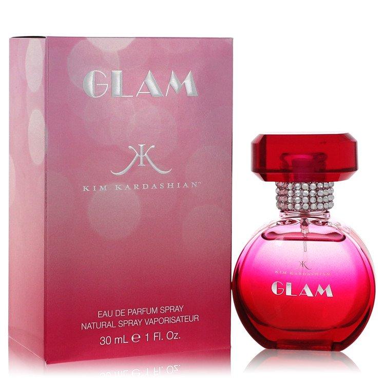 Kim Kardashian Glam by Kim Kardashian for Women Eau De Parfum Spray 1 oz