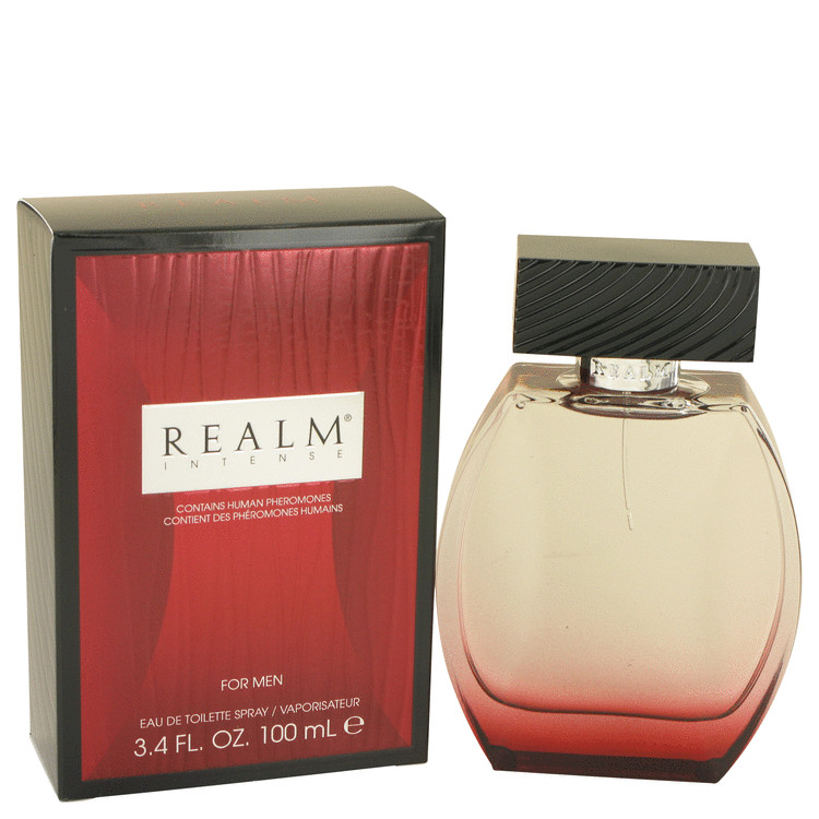 Realm Intense by Erox for Men Eau De Toilette Spray 3.4 oz