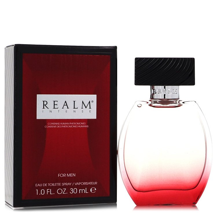 Realm Intense Cologne by Erox 1 oz EDT Spray for Men