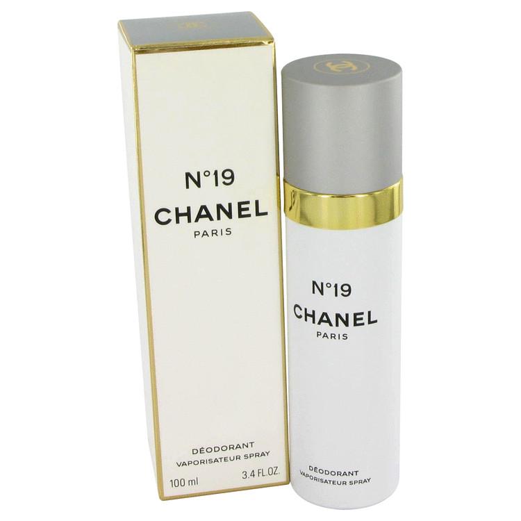 Chanel 19 Deodorant by Chanel 3.4 oz Deodorant Spray for Women