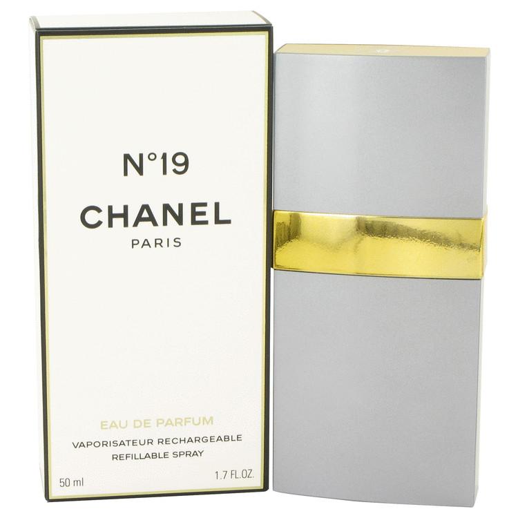 Chanel 19 Perfume 50 ml Eau De Parfum Spray Refillable for Women