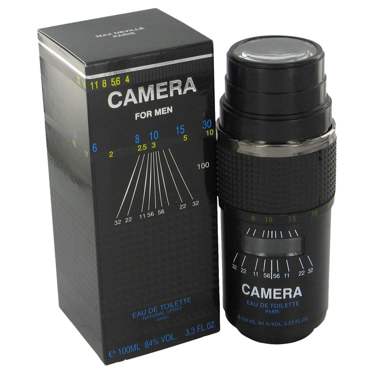 Camera Cologne by Max Deville 30 ml Eau De Toilette Spray for Men
