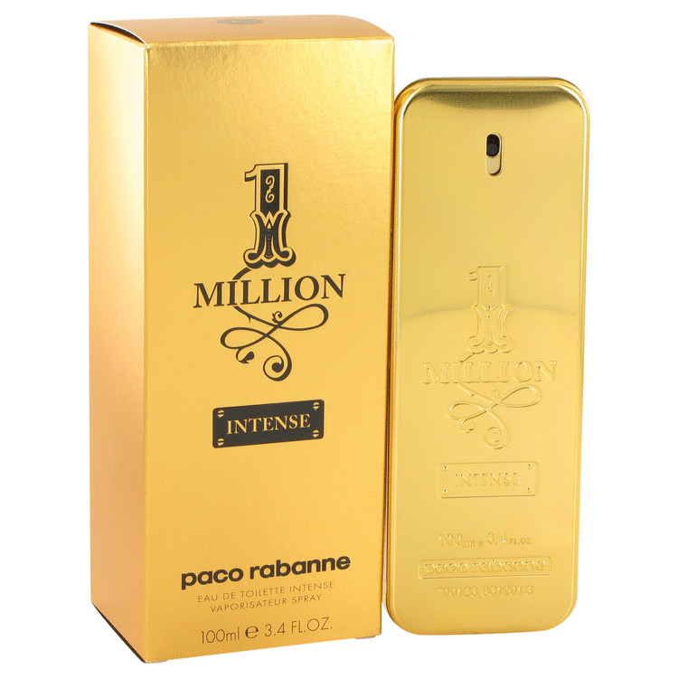 1 Million Intense Cologne by Paco Rabanne 100 ml EDT Spay for Men
