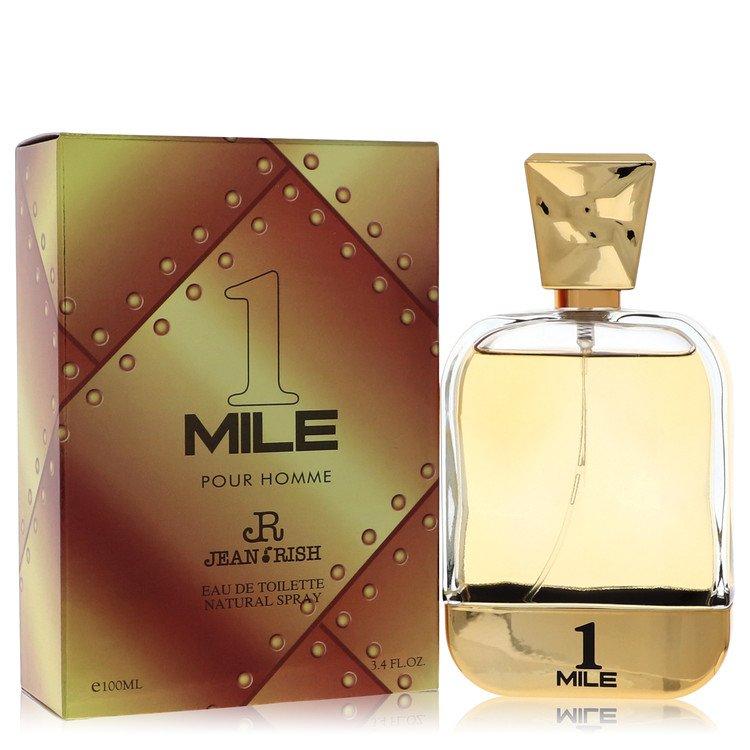 1 Mile Pour Homme by Jean Rish – Eau De Toilette Spray 3.4 oz (100 ml) for Men