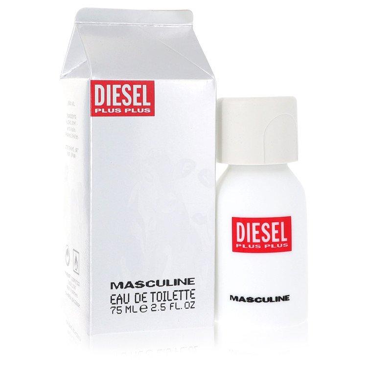 Diesel Plus Plus for Men, Gift Set (2.5 oz EDT Spray + 5 oz Deodorant Spray)