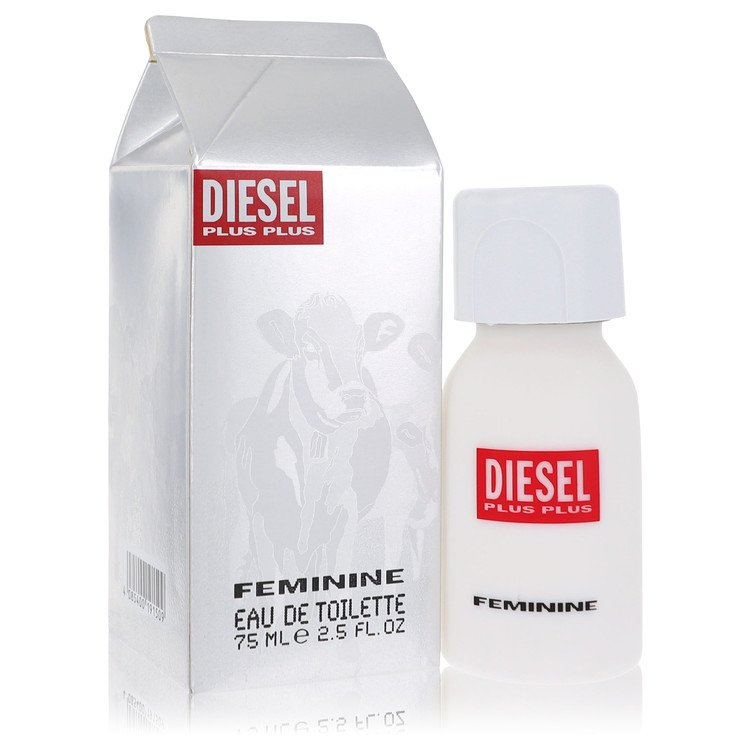 Diesel Plus Plus Gift Set -- Gift Set - 2.5 oz Eau De Toilette Spray + 5 oz Deodorant Spray for Women
