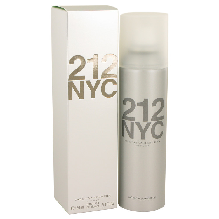 212 by Carolina Herrera –  Deodorant Spray 5.1 oz 151 ml for Women