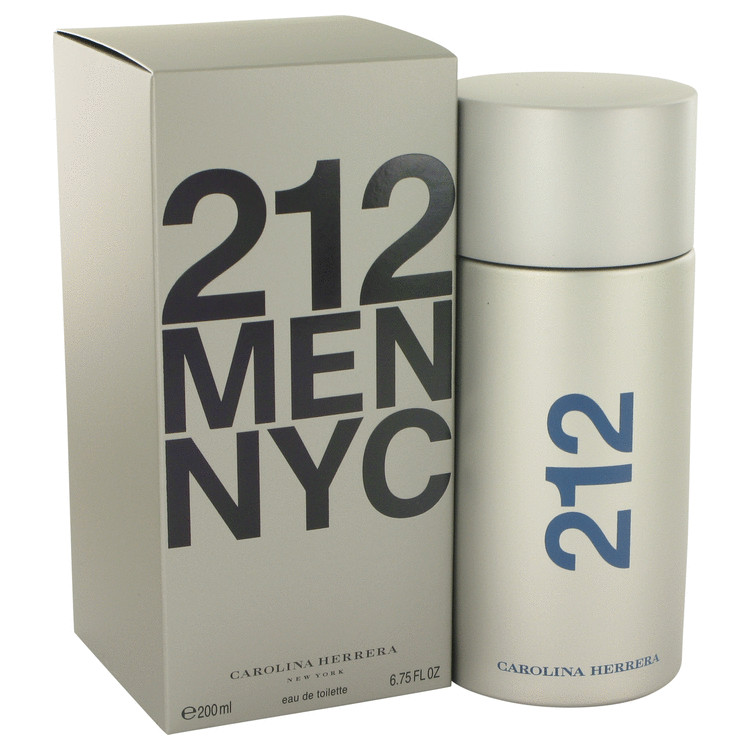 212 Cologne by Carolina Herrera 200 ml Eau De Toilette Spray for Men