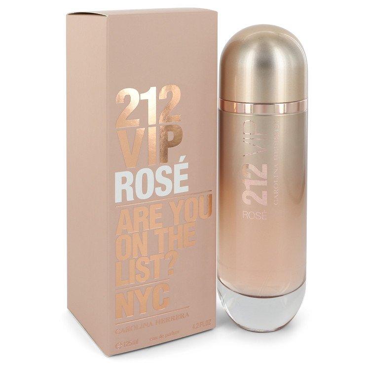 212 VIP Rose by Carolina Herrera –  Eau De Parfum Spray 4.2 oz 125 ml for Women