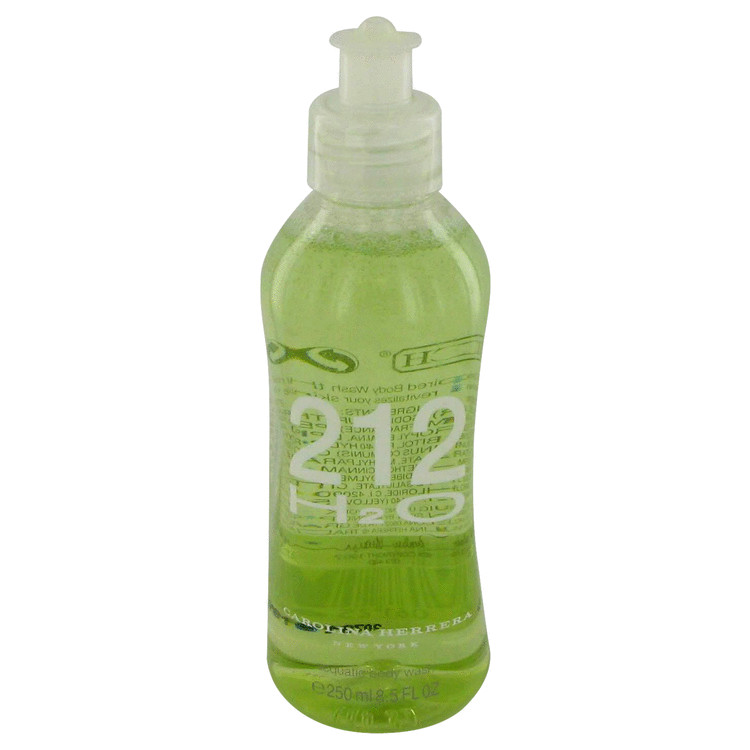 212 H20 Shower Gel by Carolina Herrera 8.5 oz Body Wash for Men