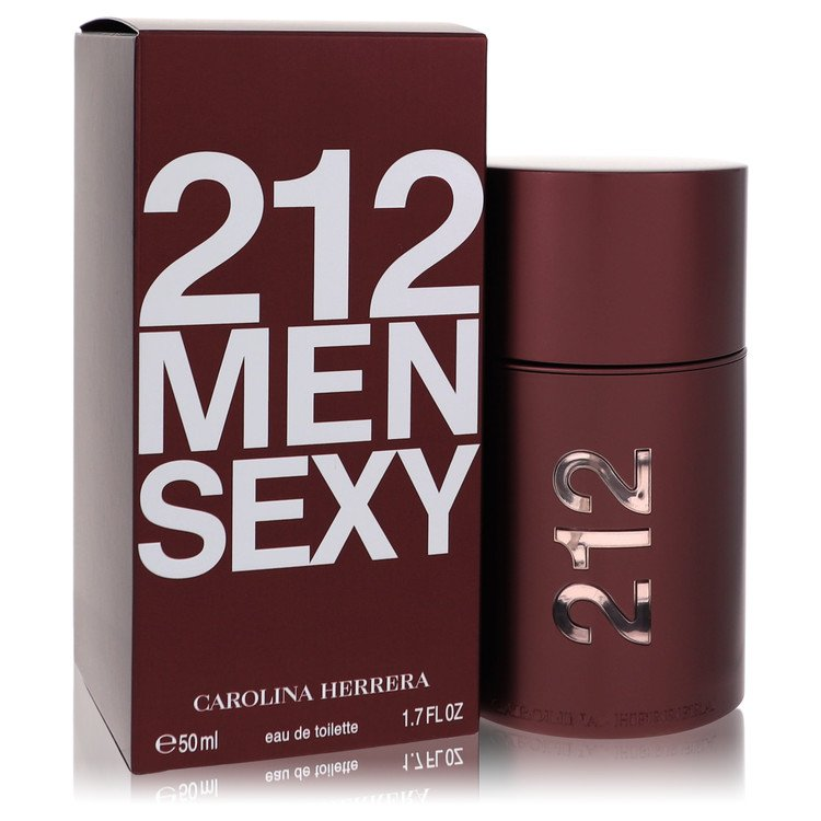 212 Sexy Cologne by Carolina Herrera 50 ml EDT Spay for Men