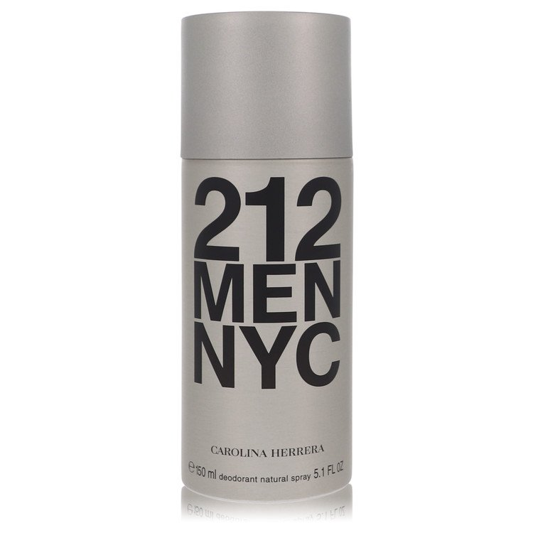 212 by Carolina Herrera by Carolina Herrera – Deodorant Spray 5 oz 150 ml for Men