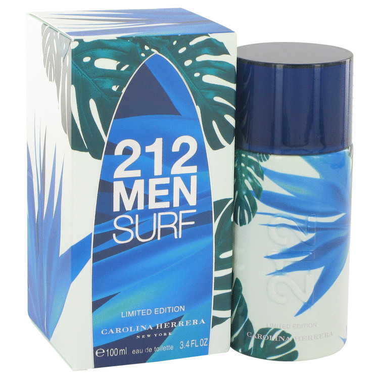 212 Surf Cologne 100 ml Eau De Toilette Spray (Limited Edition 2014) for Men