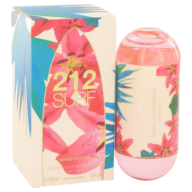 212 Surf Perfume 60 ml Eau De Toilette Spray (Limited Edition 2014) for Women