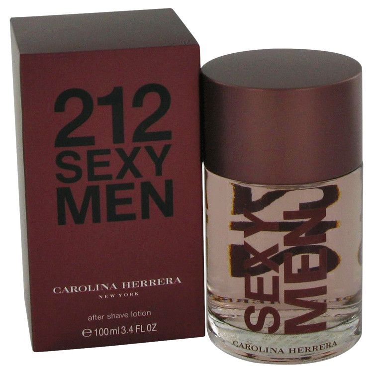 212 Sexy After Shave by Carolina Herrera 3.3 oz After Shave for Men