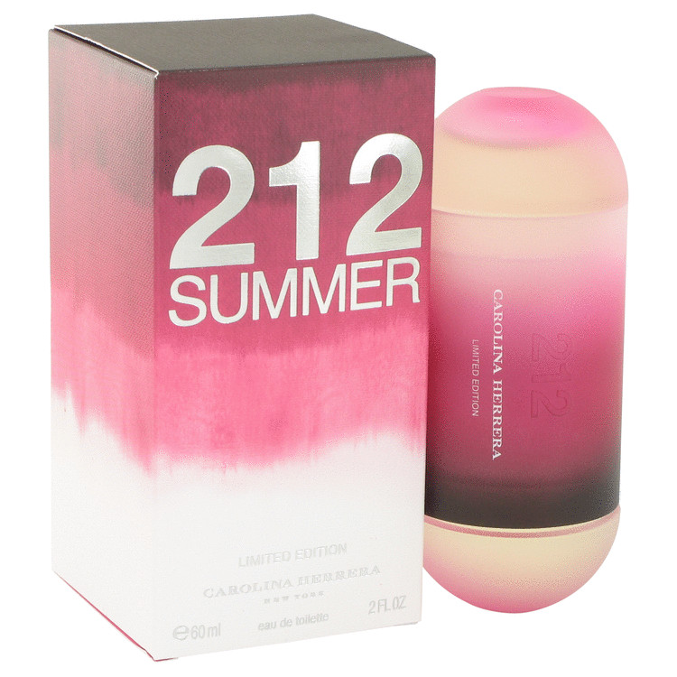 212 Summer Perfume 60 ml Eau De Toilette Spray (Limited Edition) for Women