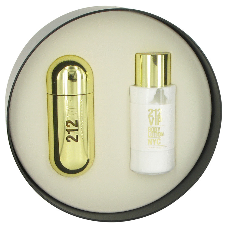 212 Vip Gift Set -- Gift Set - 2.7 oz Eau De Parfum Spray + 6.7 oz Body Lotion for Women
