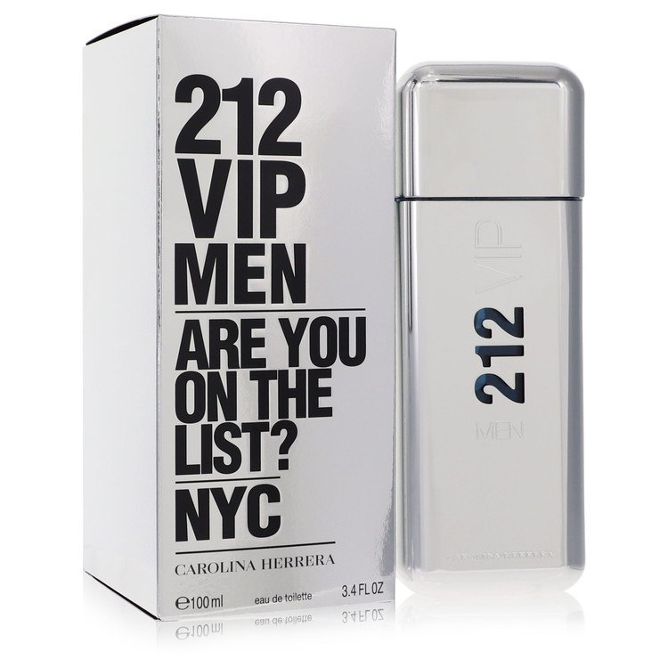 212 Vip Cologne by Carolina Herrera 100 ml EDT Spay for Men