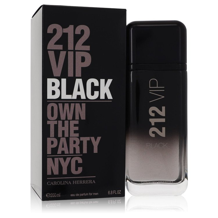 212 Vip Black Cologne by Carolina Herrera 6.8 oz EDP Spay for Men