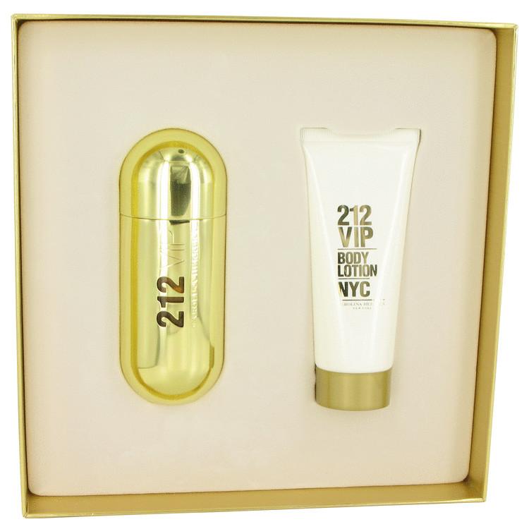 212 Vip Gift Set -- Gift Set - 2.7 oz Eau De Parfum Spray + 3.4 oz Body Lotion for Women