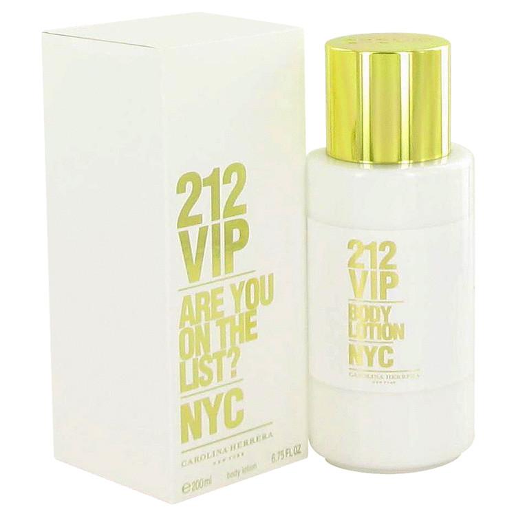 212 Vip Body Lotion by Carolina Herrera 6.7 oz Body Lotion for Women
