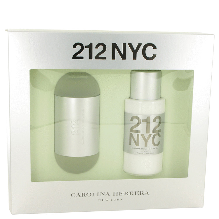 212 Gift Set -- Gift Set - 3.4 oz Eau De Toilette Spray + 6.7 oz Body Lotion for Women