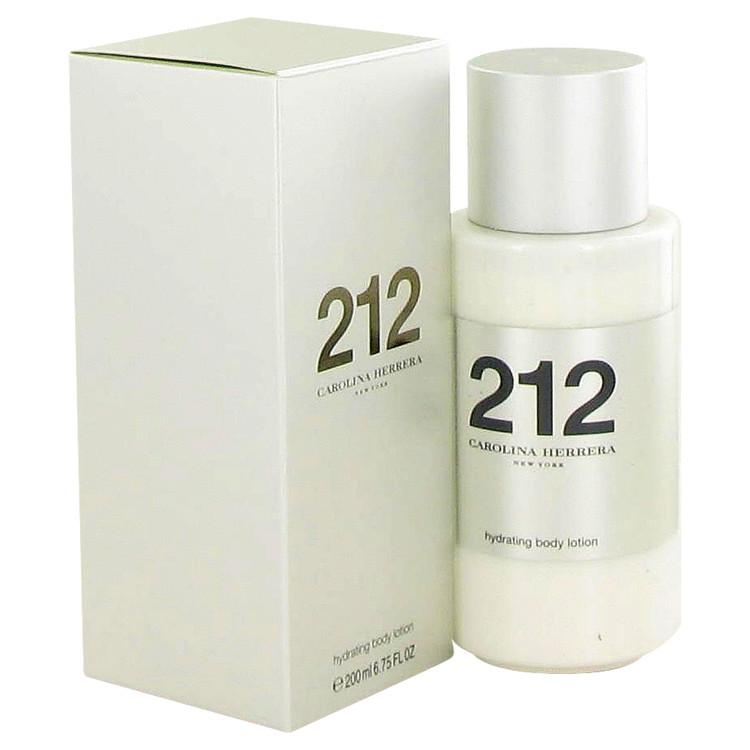 212 Body Lotion by Carolina Herrera 6.8 oz Body Lotion for Women
