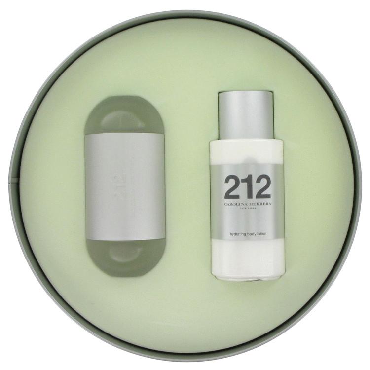 212 Gift Set -- Gift Set - 3.4 oz Eau De Toilette Spray + 3.4 oz Body Lotion for Women