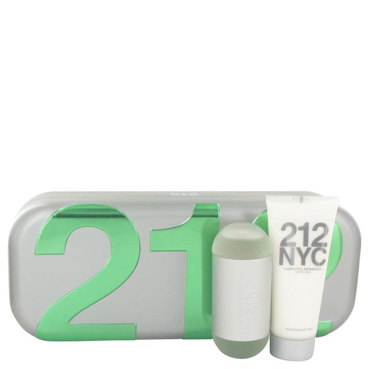 212 Gift Set -- Gift Set - 2 oz Eau De Toilette Spray + 3.4 oz Body Lotion for Women