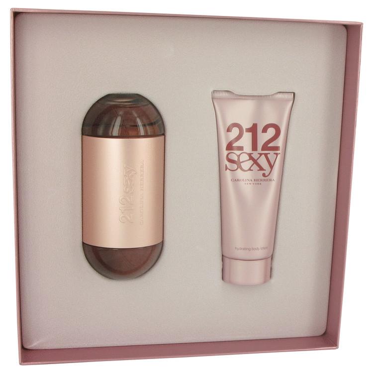 212 Sexy for Women, Gift Set (3.4 oz EDP Spray + 3.4 oz Body Lotion)
