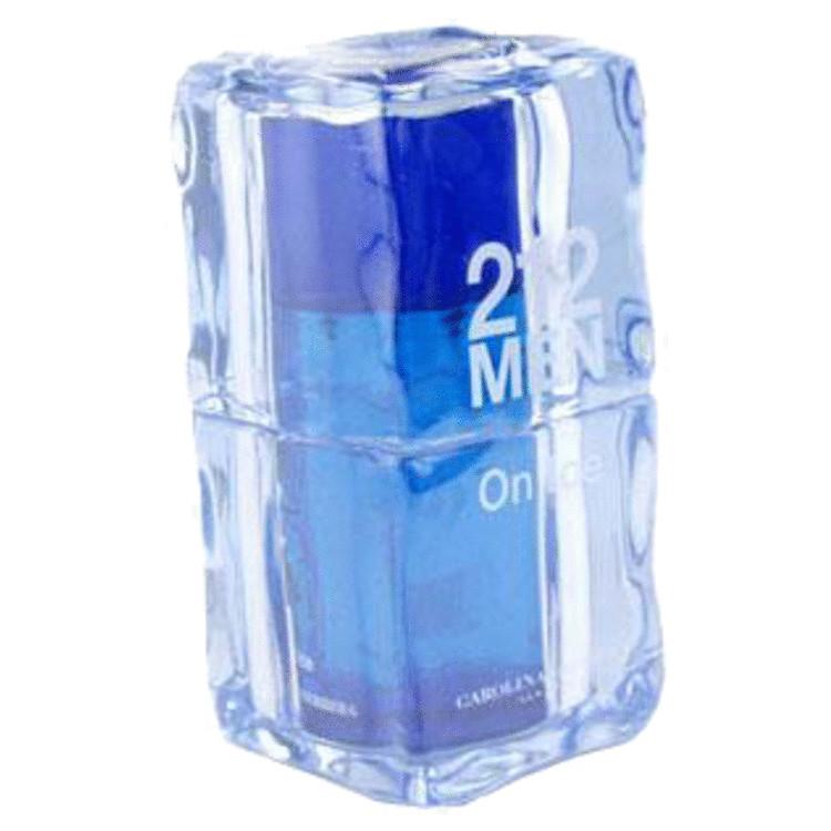 212 On Ice Cologne 3.4 oz EDT Spray (Blue) for Men