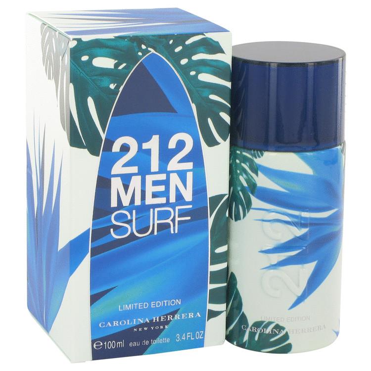 212 Surf Cologne 3.4 oz EDT Spray (Limited Edition 2014) for Men