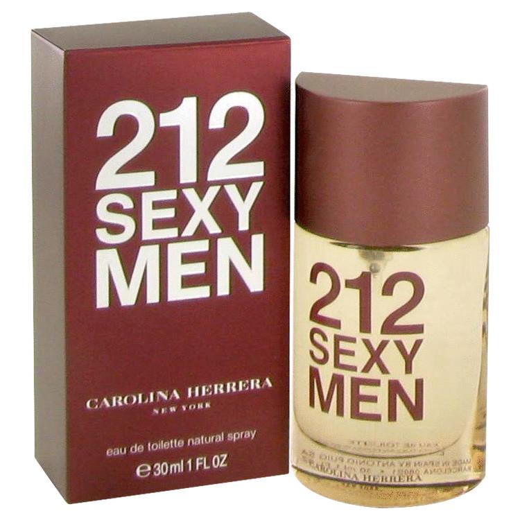 212 Sexy Cologne by Carolina Herrera 1 oz EDT Spay for Men