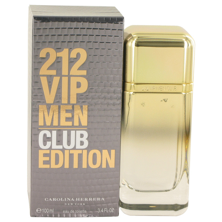 212 Vip Club Edition Cologne 3.4 oz EDT Spay for Men