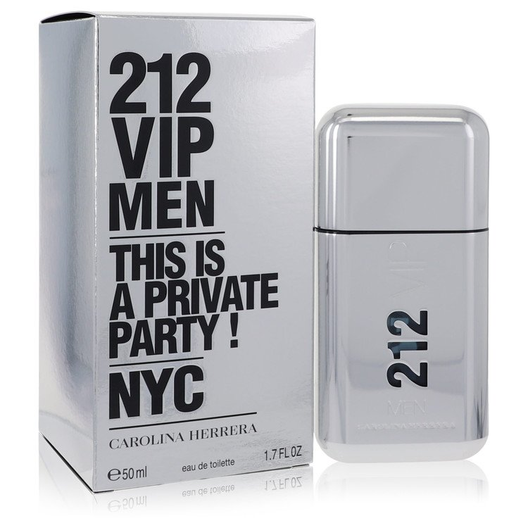 212 Vip Cologne by Carolina Herrera 1.7 oz EDT Spay for Men
