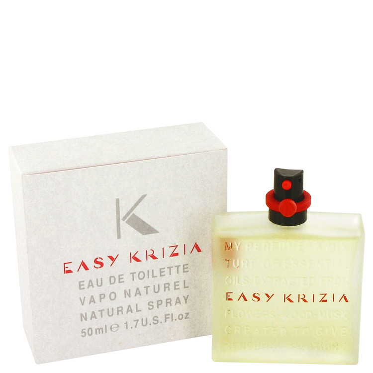 Easy Krizia Perfume by Krizia 50 ml Eau De Toilette Spray for Women