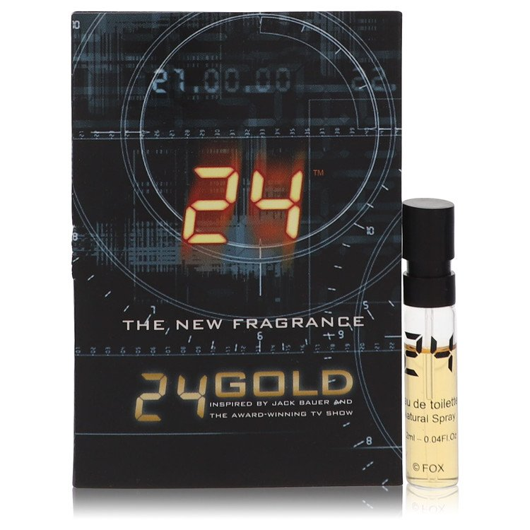 24 Gold The Fragrance by ScentStory for Men Vial (sample) .06 oz
