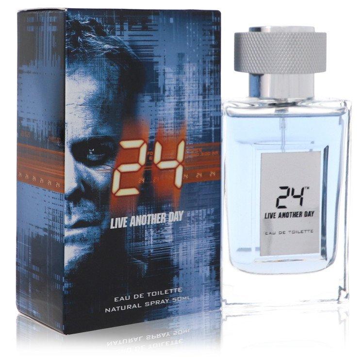 24 Live Another Day by ScentStory –  Eau De Toilette Spray 1.7 oz  50 ml for Men