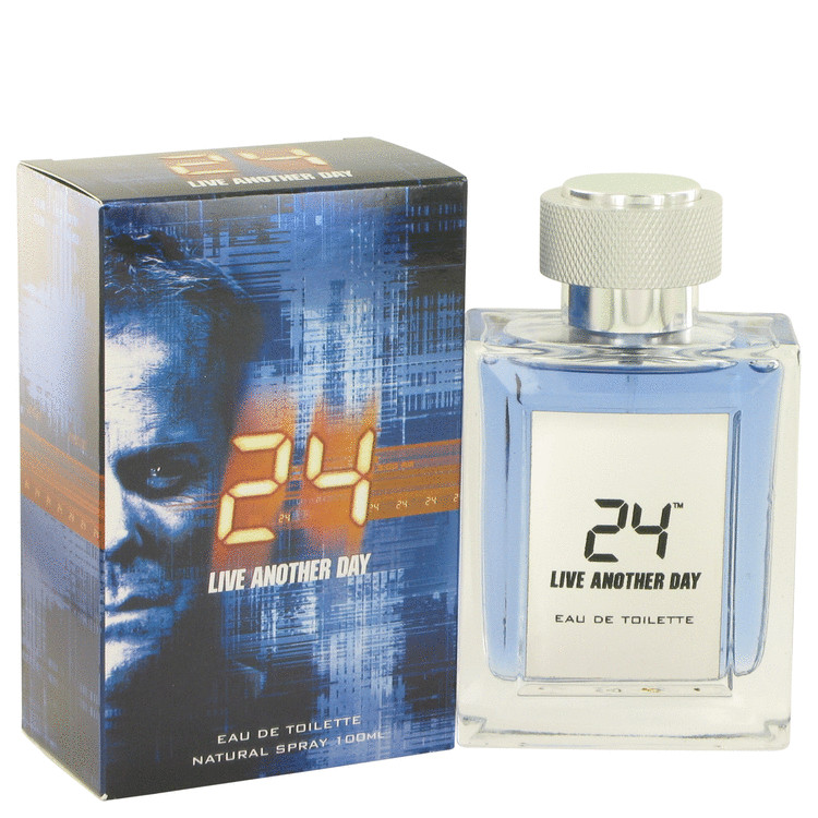 24 Live Another Day by ScentStory for Men Eau De Toilette Spray 3.4 oz