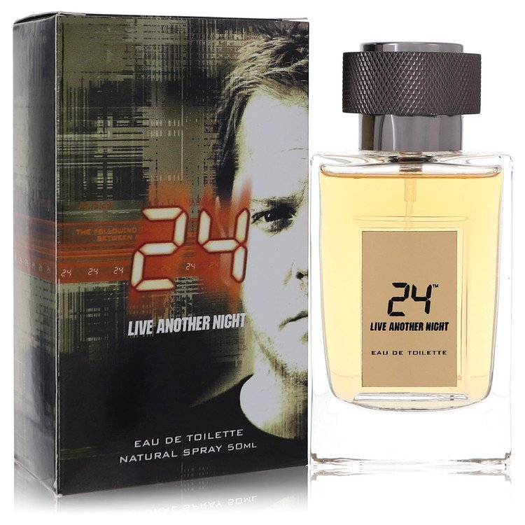 24 Live Another Night by ScentStory for Men Eau De Toilette Spray 1.7 oz