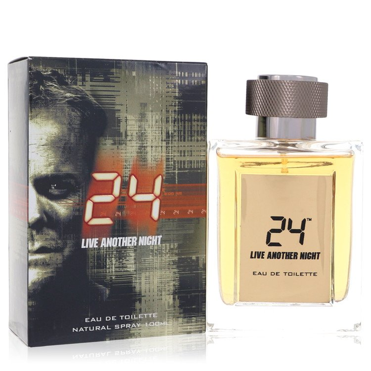24 Live Another Night by ScentStory for Men Eau De Toilette Spray 3.4 oz