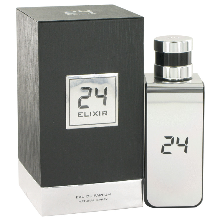 24 Platinum Elixir by ScentStory –  Eau De Parfum Spray 3.4 oz 100 ml for Men