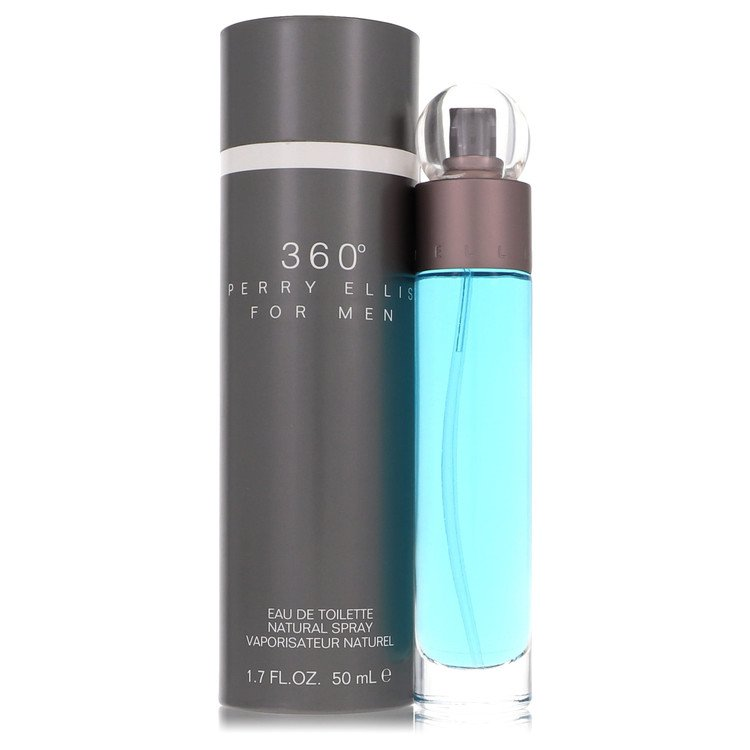 Perry Ellis 360 Cologne by Perry Ellis 50 ml EDT Spay for Men