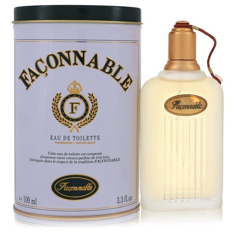 Faconnable Gift Set -- Gift Set - 3.4 oz Eau De Toilette Spray + 2.5 oz Deodorant Stick for Men