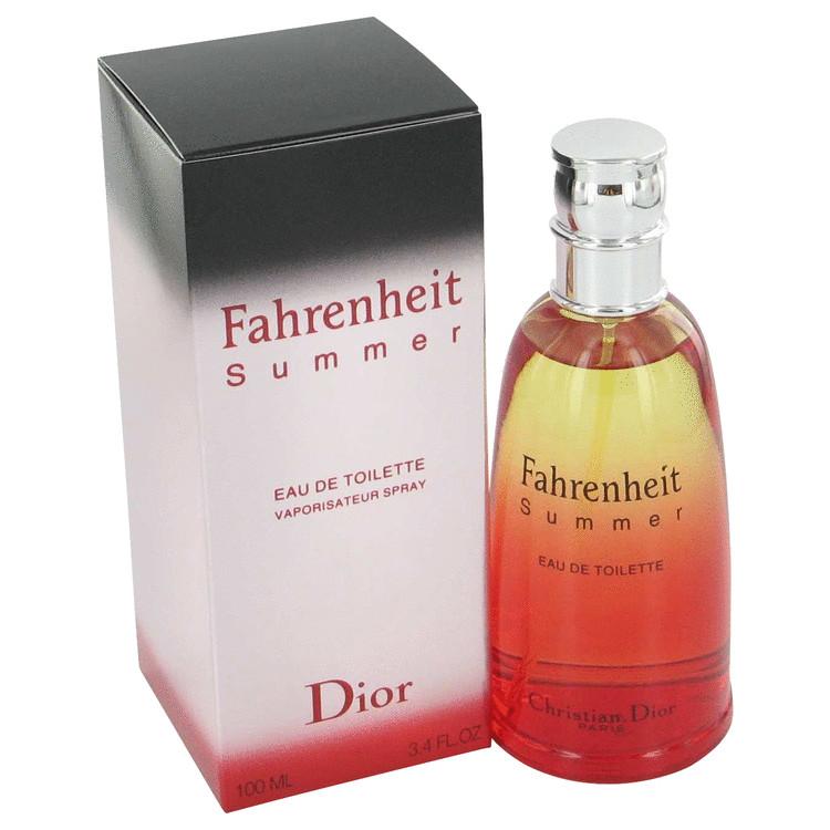 Fahrenheit Summer Fragrance Cologne 125 ml EDT Spay for Men