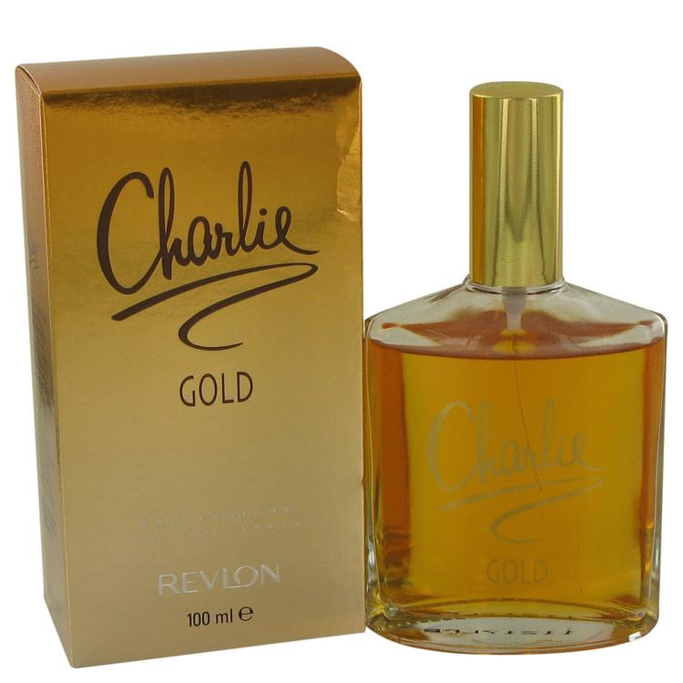 CHARLIE GOLD by Revlon for Women Eau Fraiche Spray 3.4 oz