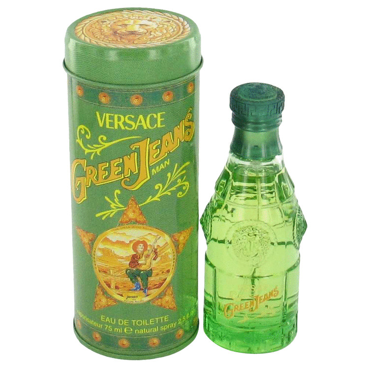 Green Jeans Cologne by Versace 2.5 oz EDT Spray for Men