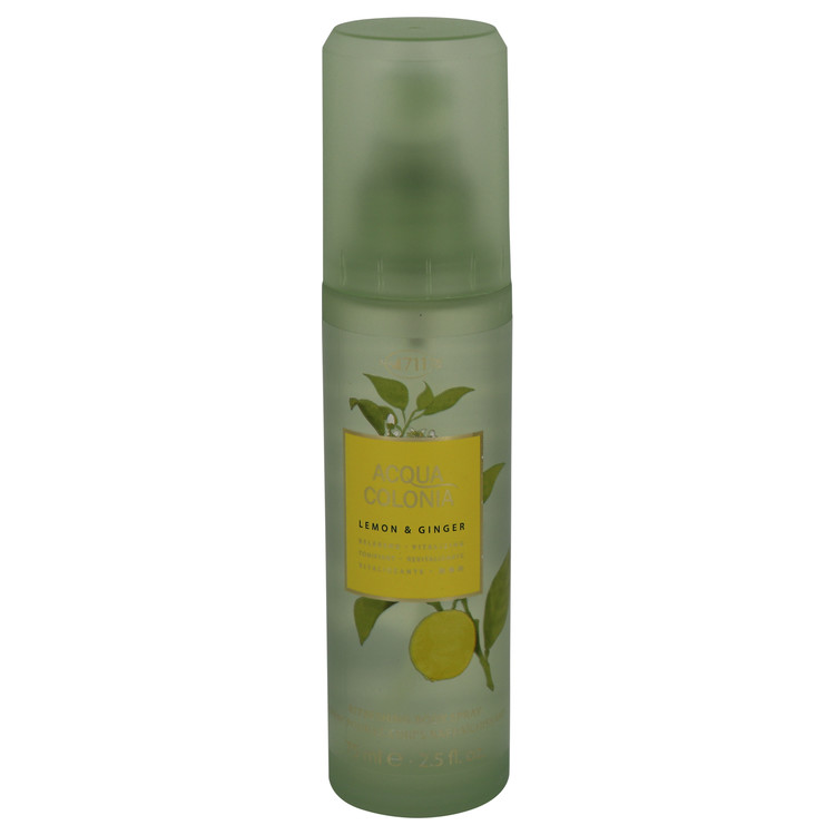 4711 ACQUA COLONIA Lemon & Ginger by Maurer & Wirtz for Women Body Spray 2.5 oz